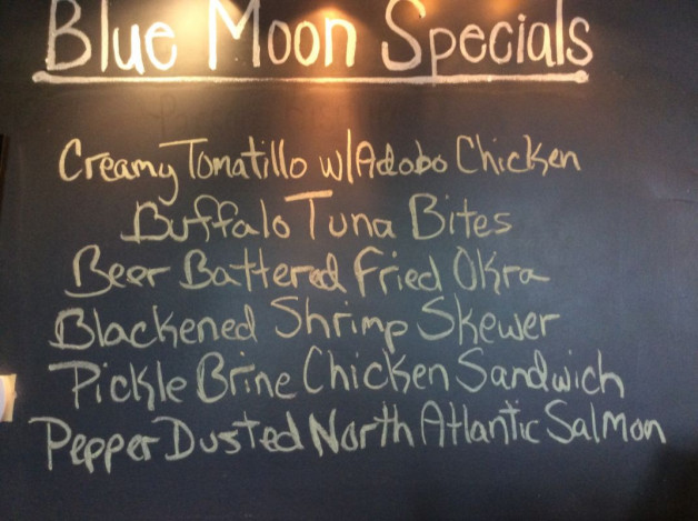 Monday Lunch Specials April 16th, 2018