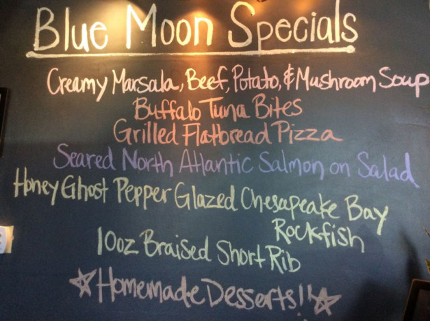 Tuesday Dinner Specials – April 17th 2018