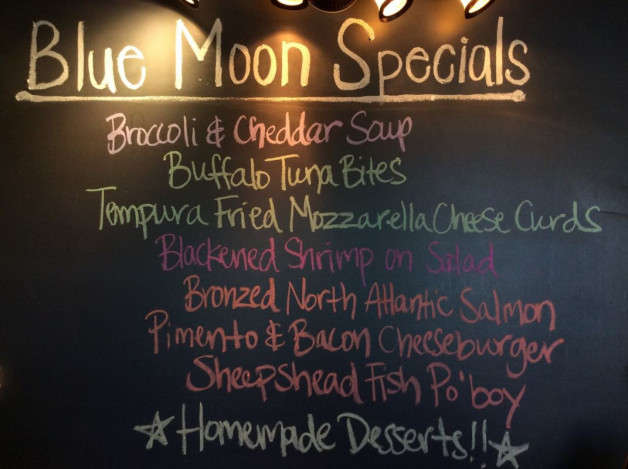 Saturday Lunch Specials – April 21st 2018