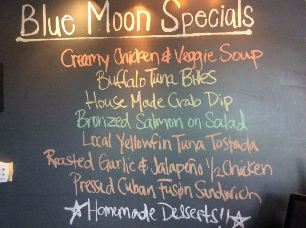 Thursday Lunch Specials – April 26th 2018