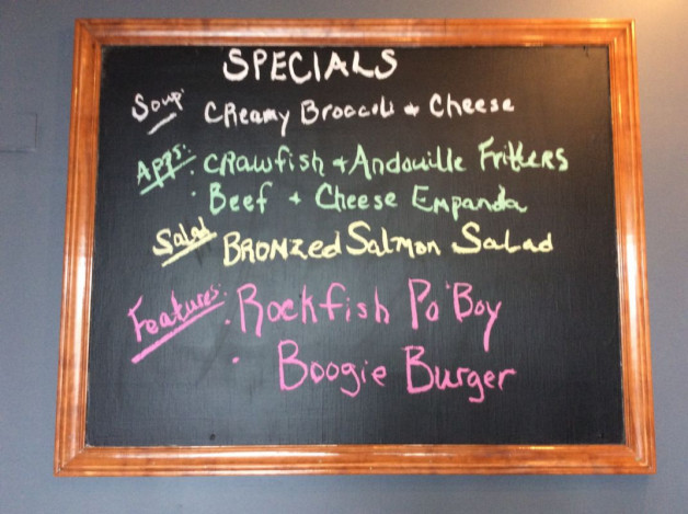 Thursday Lunch Specials May 8th, 2018