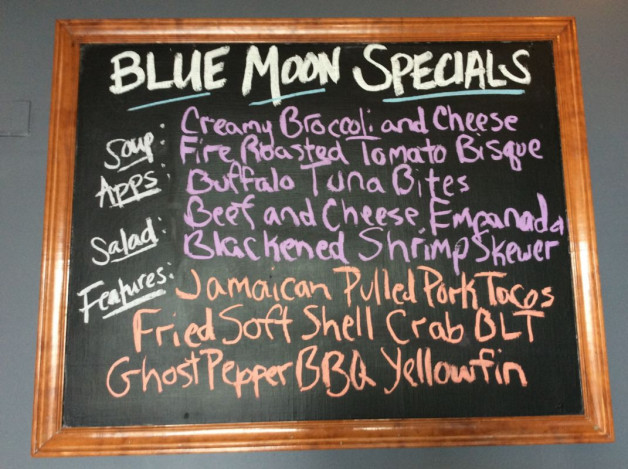 Wednesday Lunch Specials May 9th, 2018