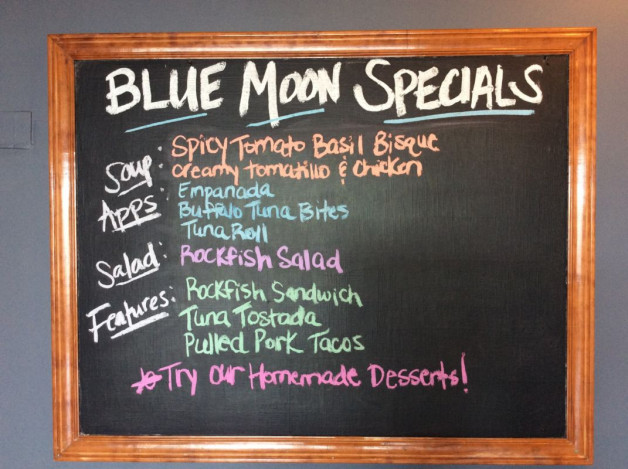 Thursday Lunch Specials – May 10th, 2018