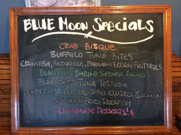 Saturday Lunch Specials – May 26th, 2018