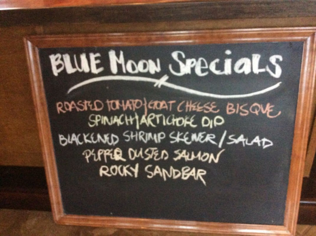 Monday Dinner Specials May 28th, 2018