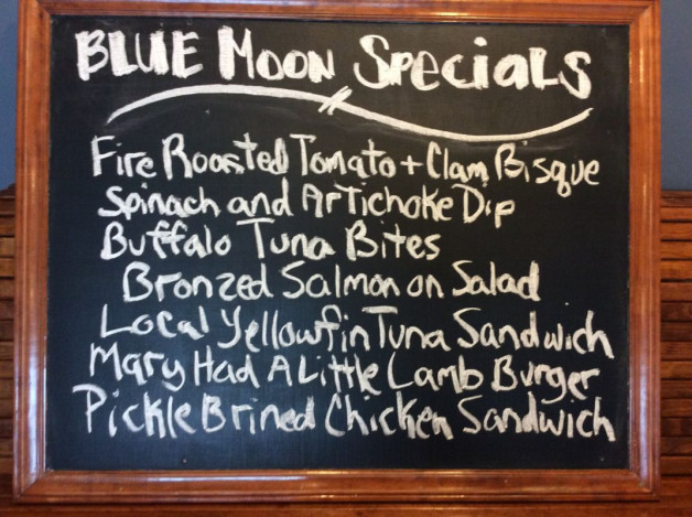 Wednesday Lunch Specials May 30th, 2018