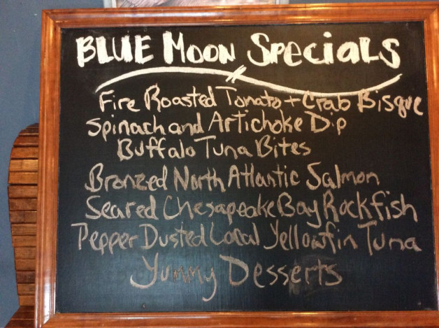 Thursday Dinner Specials May 31st, 2018
