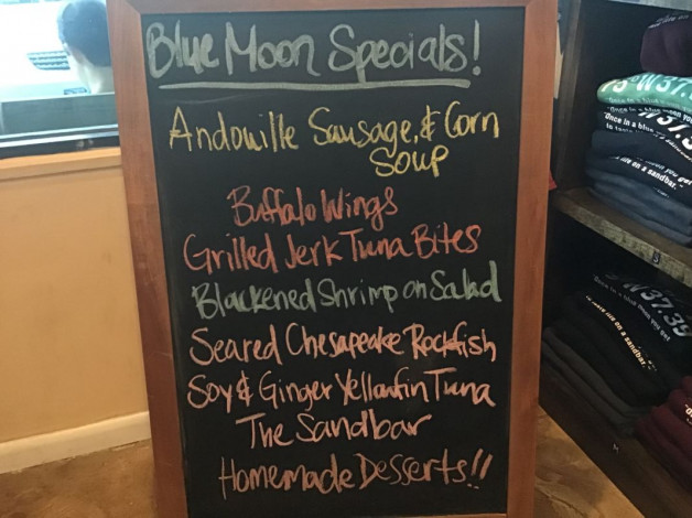Monday Dinner Specials – July 30th 2018
