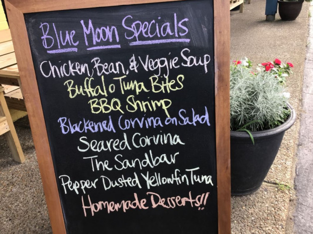 Monday Dinner Specials – August 13th, 2018