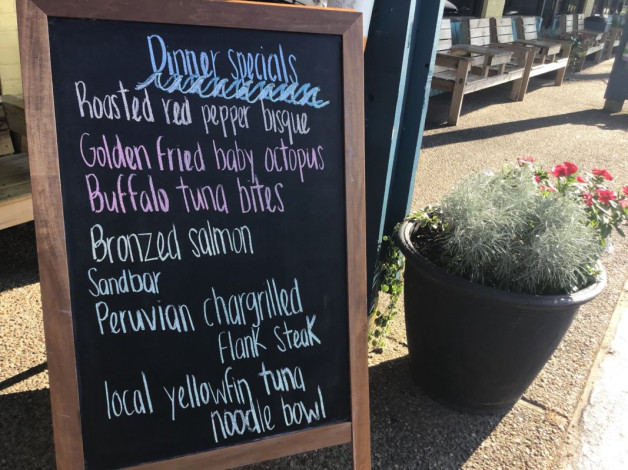 Tuesday Dinner Specials- August 28th, 2018