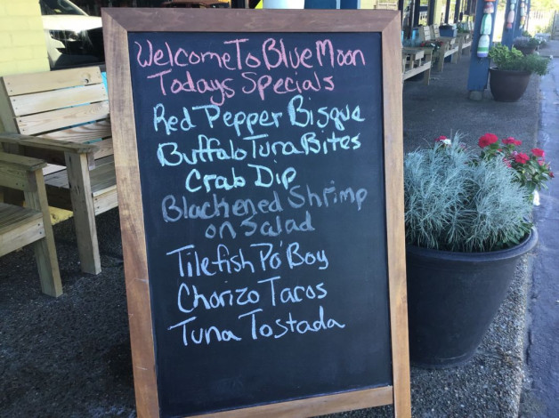 Wednesday Lunch Specials August 29, 2018