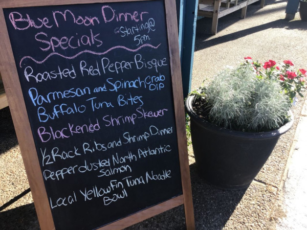 Wednesday Dinner Specials – August 29th, 2018