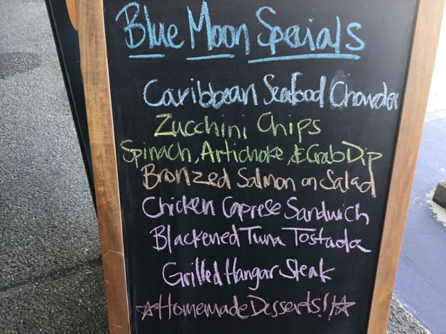 Saturday Lunch Specials – September 22nd 2018