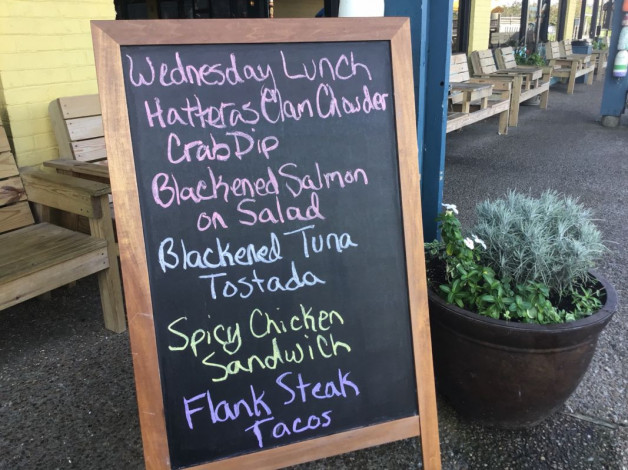 Wednesday Lunch Specials September 26th, 2018