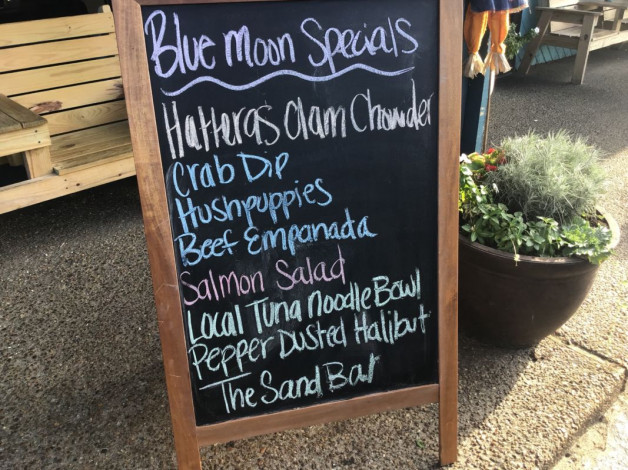 Thursday Dinner Specials September 27,2018