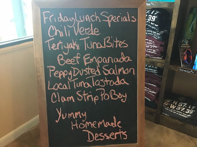Friday Lunch Specials September 28th, 2018